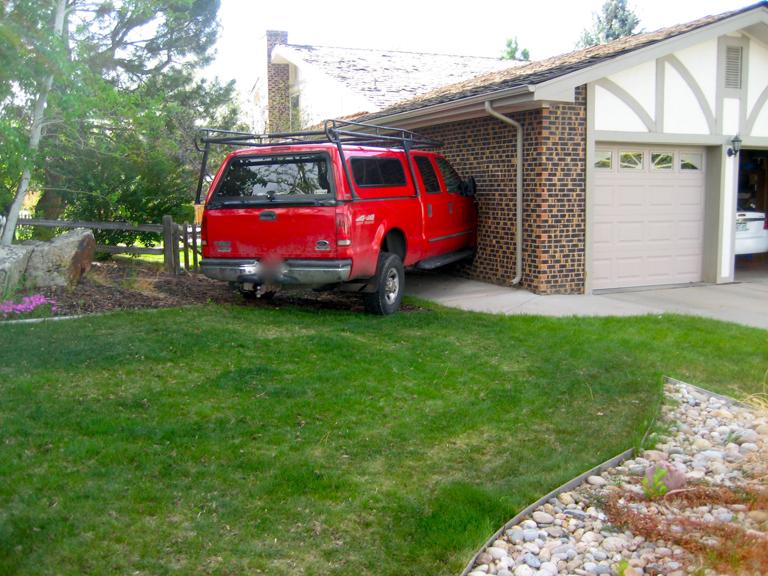 Milwaukee Car Crash House