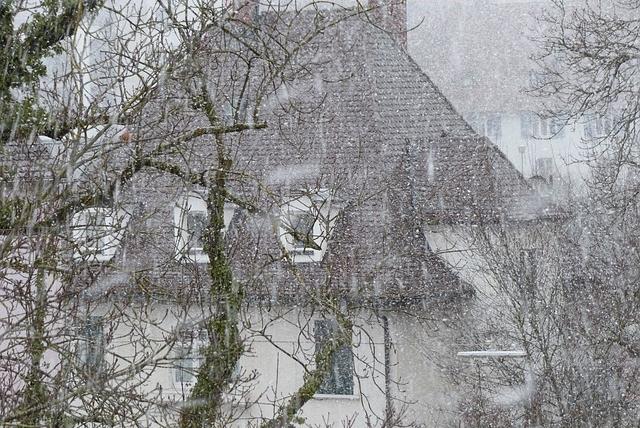 Restoration House damage for a Snow Storm