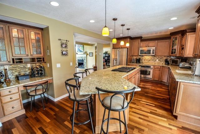 Kitchen construction in Colorado